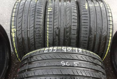 Разноширокая резина на бмв полный привод, летние шины R19 255 40 Continental ContiSport