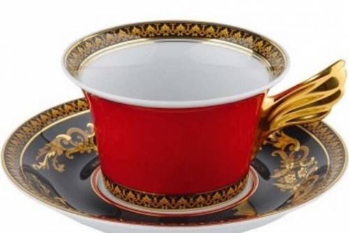 Чайная пара Versace Medusa. Фарфор