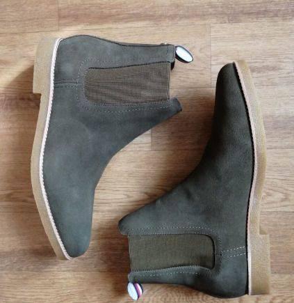 Новые ботинки Tommy Hilfiger, р. 46, nike blazer high мужские