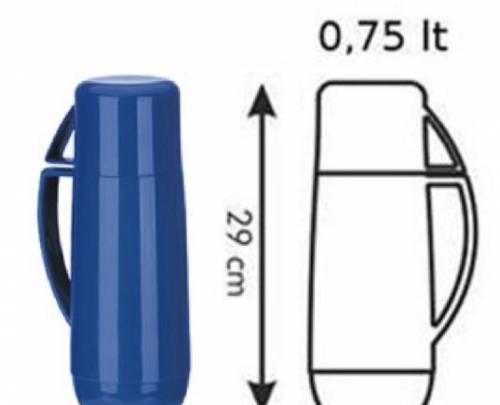 Термос с кружкой family 0.75 л классик 310516