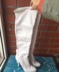 Кроссовки nike air max 90 winter sneakerboot, сапоги ботфорты белые