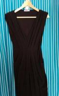 Вечернее платье для полных женщин из шифона, маленькое черное платье для беременных 44, Тихвин