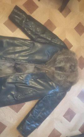 Продам дубленку, размер 50-52 (L), купить спортивные брюки адидас арт aj5577