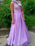 Платье на торжество, выпускной вечер, платья для венчания серого цвета