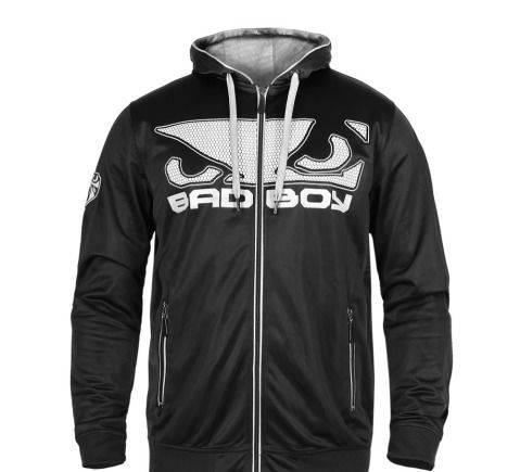 Jules магазин мужской одежды, кофта олимпийка капюшон Bad Boy Dinamic XL черная
