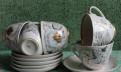 Чашки с блюдцеми фарфоровые СССР