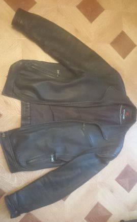 """Куртка из натуральной кожи """"syrvado"""", palace толстовки купить дешево"""