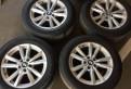 Диски r18 BMW X5 с зимней резиной, бмв х5 2017 года 19 колесо