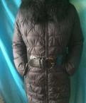 Зимнее пальто snowimage 50-52p, белое платье и черные сапоги ботфорты, Санкт-Петербург