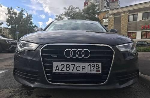 Audi A6, 2012, мазда 6 2014 белый перламутр