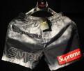 Мужские куртки для весны, шорты плавки Supreme Суприм новые. Черные