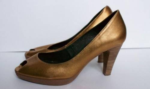 """""""Золотые"""" туфли Eye (Британия), р.39, кожа, старые модели кроссовок адидас купить"""