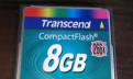 Карта памяти Transcend CompaktFlash 8gb, Санкт-Петербург
