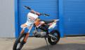 Питбайк Pitbike BSE 125 с фарой 2015, центробежное сцепление на мотособаку