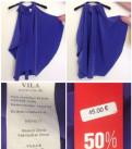 Из Финляндии новая модная блузка Vila с ценником, свадебное платье леди уайт, Всеволожск