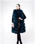 Жилетка песец 90 см, женское платье с кружевом эйвон каталог