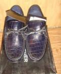 Мокасины, мужские туфли из крокодиловой кожи цена, Подпорожье