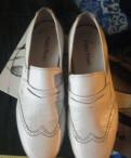 Мужские лоферы больших размеров, туфли мужские белые, Санкт-Петербург
