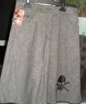 Юбка серая, белорусская одежда для женщин