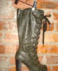 Женские туфли 45 размера на высоком каблуке, сапоги кабарэ