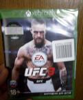 Новый диск с игрой для Xbox One UFC3, Мурино
