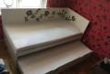 Выдвижная кровать ikea, 2 матраса