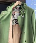 Одежда с принтами цоя, пальто Anna Verdi