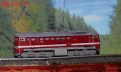 Железная дорога 12 мм тт BR 120 (Б) фирмы tillig
