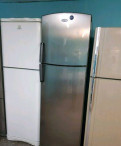 Холодильник Вирпул хромированный