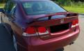 Спойлер Honda Civic 4D дст30 (2006-11), купить коврики на шкоду октавия скаут 2010, Рахья