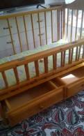 Кроватка с матрасом (кровать)