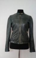 Кожаная куртка Massimo Dutti, одежда с принтом цена