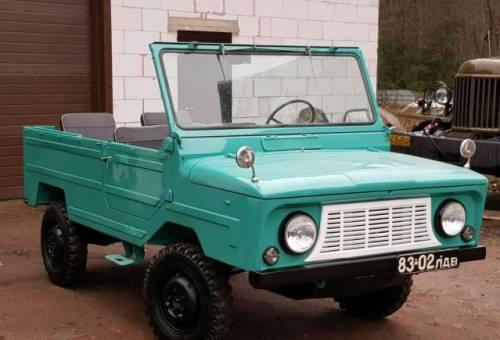 ЛуАЗ 969, 1978