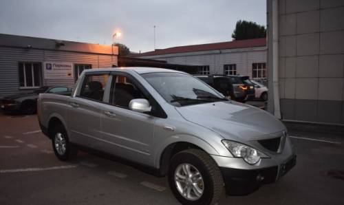 SsangYong Actyon Sports, 2008, ленд ровер дискавери td5