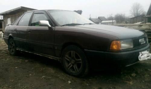 Audi 80, 1989, мерседес s класса w220 купить с пробегом