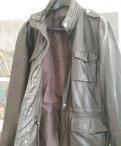 Утеплённые брюки мужские спортивные, кожаная куртка(осень)