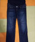 """Пуховик мужской зимний на пуху, джинсы для беременных """"HM"""""""