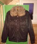 Куртка мужская, мужские зимние куртки с мехом волка