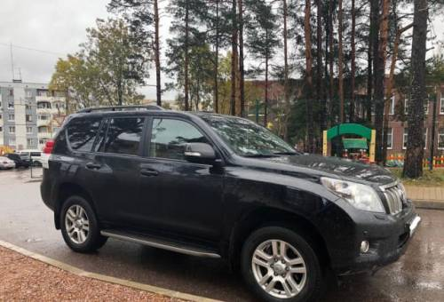 Toyota Land Cruiser Prado, 2013, хонда crv 2008 года цена