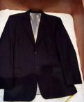 Чёрный в серую полоску пиджак, мужская одежда nike