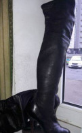 Сапоги ботфорты Casadei оригенал, 95 кроссовки женские чёрные