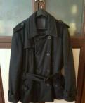 Мужское пальто, размер L, футболка юность беги со мной чёрный