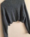 Платье макси и пальто, свитер