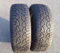 Две зимние шины Continental 235/65/17, купить резину на киа рио 15 радиус лето
