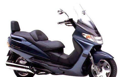 Запчасти на мотоциклы планета, suzuki AN 400 Burgman Skywave ск41А 1998 - 1999 г
