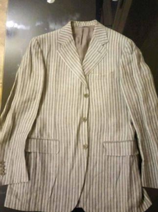 Мужская одежда для девушек, итальянский льняной костюм Canali (оригинал)