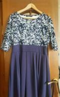 Платье с кружевом сверху и фатиновой юбкой, платье для беременных. Обмен