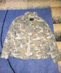 Мужская кожаная куртка с овчиной, мужская джинсовая куртка Top Secrit