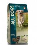 ALL dogs полнорационный корм для взрослых собак, Лодейное Поле