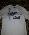 Мужские куртки из пони, футболка Emporio Armani EA7 M, Санкт-Петербург